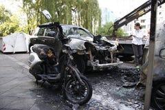 Vandalismus in Berlin Lizenzfreies Stockbild