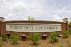 vanderbilt университета стоковая фотография