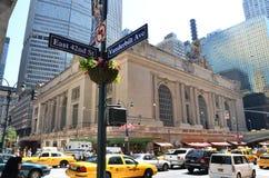 Vanderbilt and E 42nd Street stock photography
