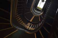 Vanderbilt Mansion stairwell skylight Hyde Park Stock Image