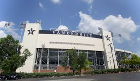 Vanderbilt Stadium w Nashville, TN Obraz Stock