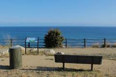 Vanderlip-Park und Spur auf Palos Verdes Peninsula, Los Angeles County, Kalifornien Lizenzfreies Stockfoto