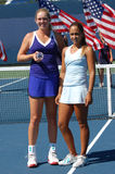 Vandeweghe Paz Franco winners US Open 2008 (77) Stock Image