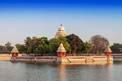 Vandiyur Mariamman Teppakulam Royalty Free Stock Images