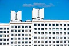 Vandrarhem av det vitryska universitetet av kultur i Minsk arkivbild