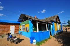 Vandrarhem på Inner Mongolia Fotografering för Bildbyråer