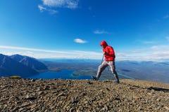 Vandring i Kanada Fotografering för Bildbyråer
