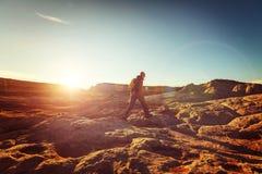 Vandring i Utah royaltyfri bild