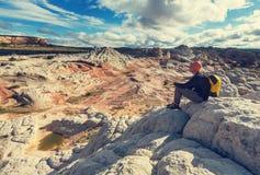 Vandring i Utah royaltyfria bilder