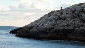 Vandring Nova Scotia Royaltyfria Bilder