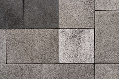 Vandringsled för tegelsten för kvarter för sten för förberedande sten för trottoartextur Arkivfoto