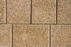 Vandringsled för tegelsten för kvarter för sten för förberedande sten för trottoartextur Arkivbild