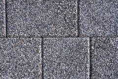 Vandringsled för tegelsten för kvarter för sten för förberedande sten för trottoartextur Royaltyfri Fotografi
