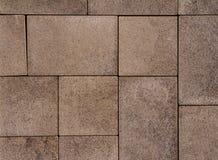 Vandringsled för tegelsten för kvarter för sten för förberedande sten för trottoartextur Royaltyfria Bilder