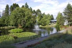 VanDusen ogród botaniczny zdjęcia royalty free