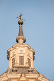 Vane tower with cross shaped Stock Images