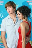 Vanessa ANNE Hudgens, Zac Efron Stock Photos