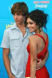 Vanessa ANNE Hudgens, Zac Efron Royalty Free Stock Photography