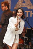 Vanessa Hudgens à 2015 étoiles dans l'allée Image stock