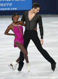 Vanessa JAMES / Morgan CIPRES (FRA) Royalty Free Stock Photos