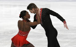 Vanessa JAMES/Morgan CIPRES (FRA) Lizenzfreie Stockfotos