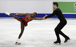 Vanessa JAMES/Morgan CIPRES (FRA) Stockfotos