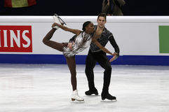 Vanessa JAMES/Morgan CIPRES (FRA) Stock Foto's