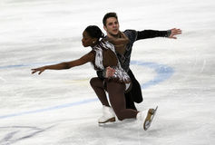 Vanessa JAMES/Morgan CIPRES (FRA) Stock Afbeelding