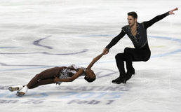 Vanessa JAMES/Morgan CIPRES (FRA) Stock Fotografie