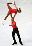 Vanessa JAMES / Yannick BONHEUR short program Royalty Free Stock Image