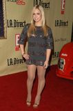 Vanessa Luberti at the. Remember To Give Holiday Party hosted by L.A. Direct Magazine, E! Network and Ronald McDonald Charities. Les Deux, Hollywood, CA. 12-13 stock photography