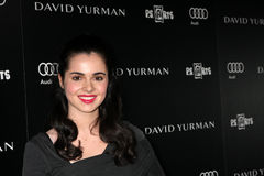 Vanessa Marano. LOS ANGELES - OCT 18:  Vanessa Marano arriving at the PS Arts 20th Anniversary Event at the Sunset Tower Hotel on October 18, 2011 in West Stock Photos