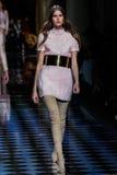 Vanessa Markotni spacery pas startowy podczas Balmain przedstawienia Zdjęcie Royalty Free
