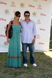 Vanessa Minnillo,Nick Lachey Stock Photography