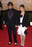 Vanessa Paradis,Johnny Depp Royalty Free Stock Photos