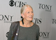 Vanessa Redgrave. Beams for the media at the Meet the Nominees gathering in mid-town Manhattan on May 16, 2007.  The venerable British actress was nominated for Royalty Free Stock Image