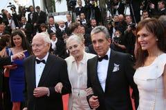 Vanessa Redgrave, James Ivory obrazy royalty free