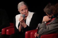 Vanessa Redgrave Meets The Audience - 12th Rome filmFest Arkivbild
