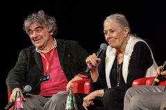 Vanessa Redgrave Meets The Audience - 12th Rome filmFest Royaltyfri Bild