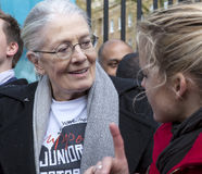 Vanessa Redgrave support the Junior Doctors Stock Images