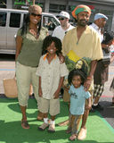 Vanessa Williams. And family  (Melrose Place) The Ant Bully LA Premiere Grauman's Chinese Theater Los Angeles, CA July 23, , 2006 Royalty Free Stock Photos