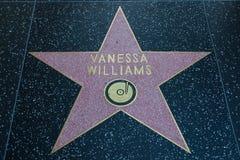 Vanessa Williams Hollywood Star arkivfoto