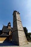 Vang-Daubenkirche Stockbild