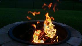 Vang de brand Stock Foto