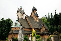Free Vang Stave Church Royalty Free Stock Images - 127293279