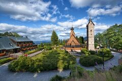 Free Vang Stave Church In Karpacz, Poland Royalty Free Stock Photo - 197426905
