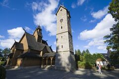 Free Vang Stave Church In Karpacz, Poland Royalty Free Stock Photography - 197427277