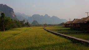 Vang Vieng стоковое изображение