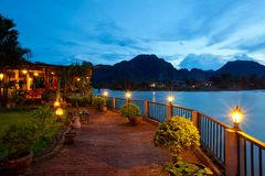 Vang Vieng Royalty Free Stock Photo