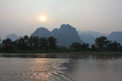 Vang Vieng Стоковое Фото